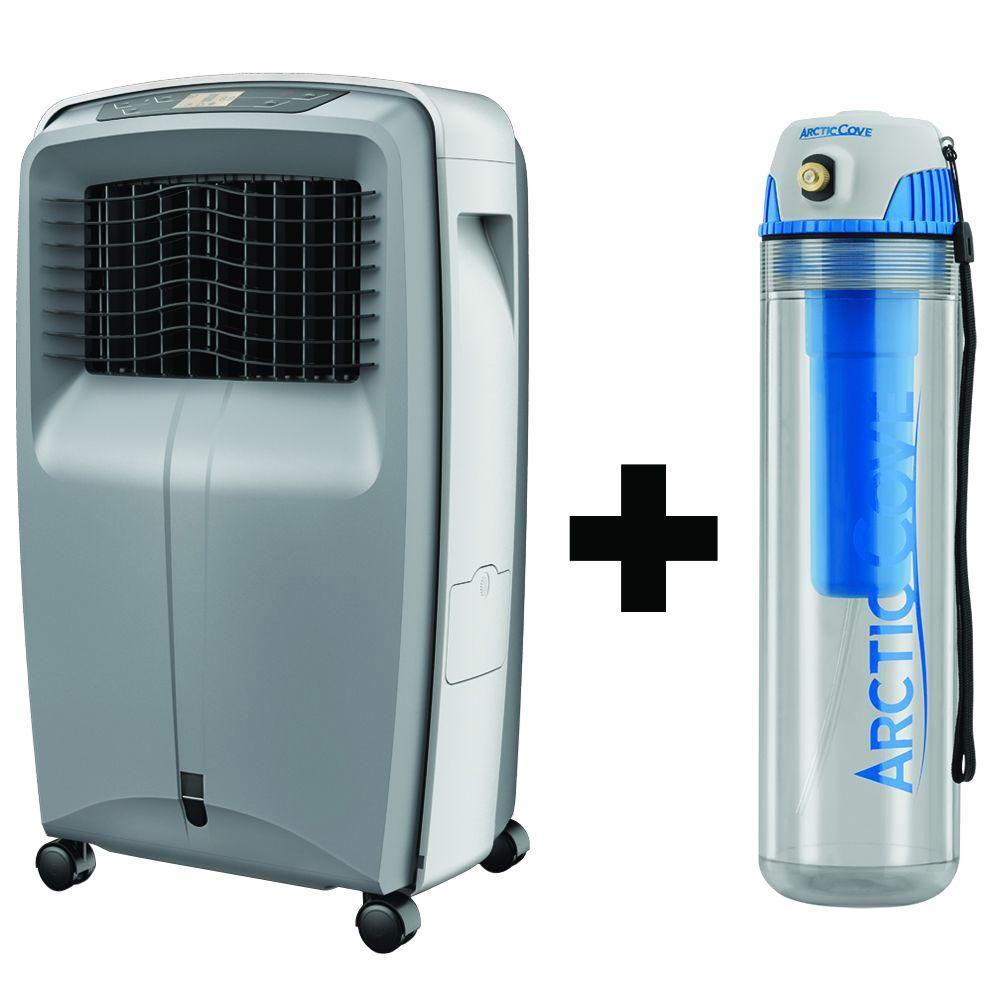Swamp Cooler Replacement Fan : Arctic cove cfm speed portable evaporative cooler