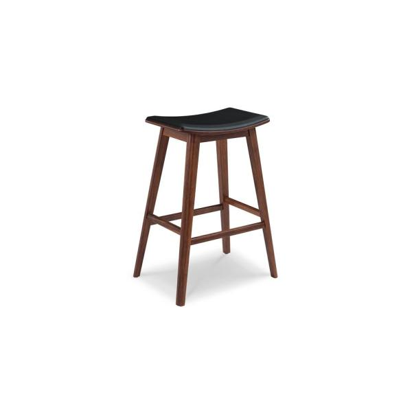 Terra 26 in  Exotic 100% Solid Bamboo Counter Stool with Molded