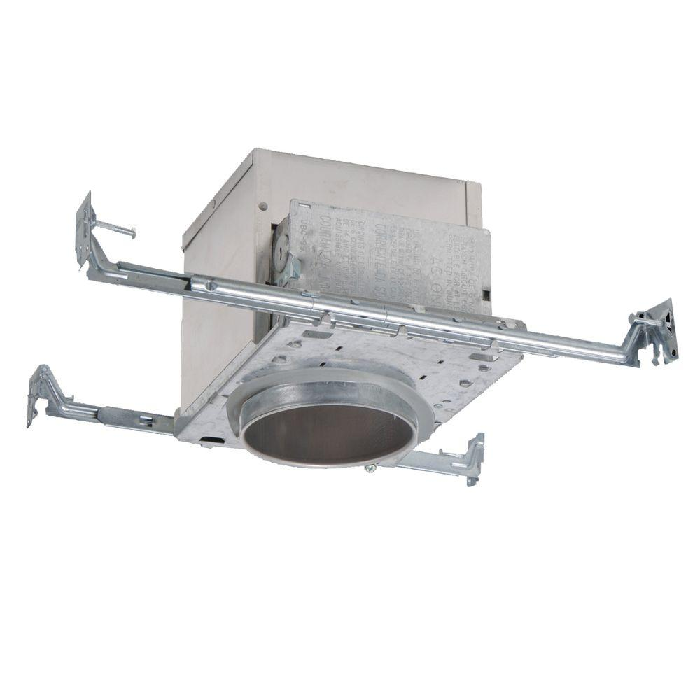 Recessed Lighting In Insulation Contact : All pro in aluminum recessed lighting housing for new