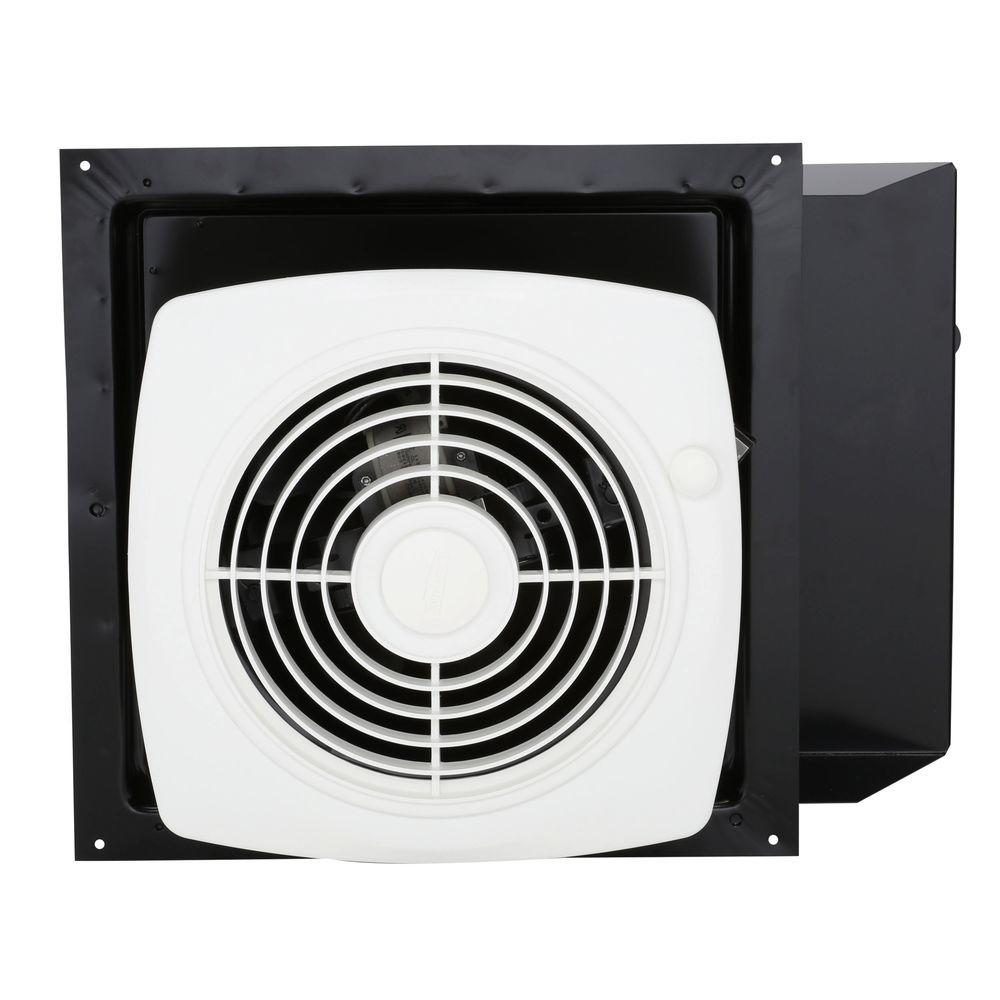 Through Wall Ventilation Fan : Broan cfm through the wall exhaust fan with on off