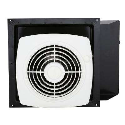 180 CFM Through-the-Wall Exhaust Fan with On/Off Switch