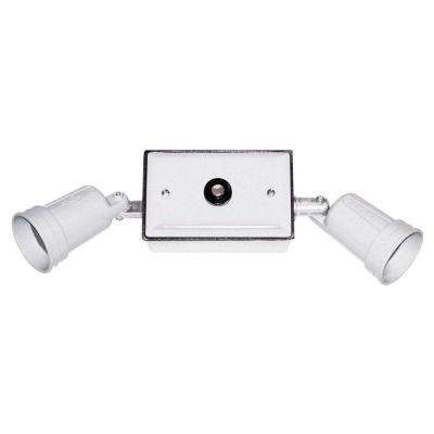 Weatherproof Dusk to Dawn Floodlight Kit - White