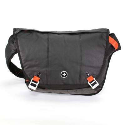 Jumper Laptop 15 in. Black Messenger Bag