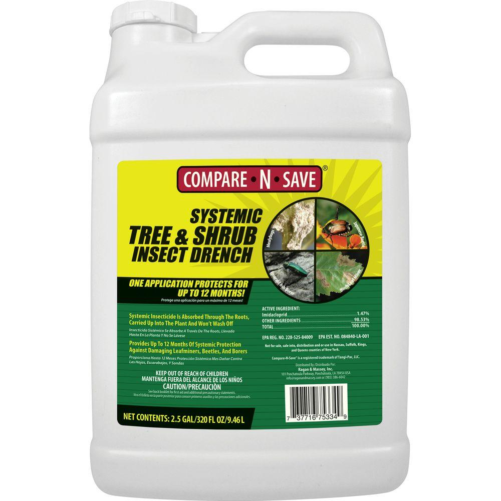 Compare-N-Save 2.5 gal. Systemic Tree and Shrub Insect Drench