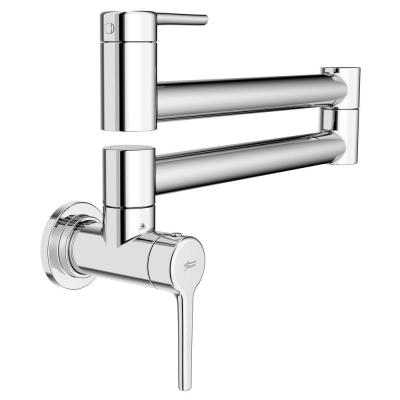 Studio S Wall Mount Pot Filler with Swing Arm in Polished Chrome