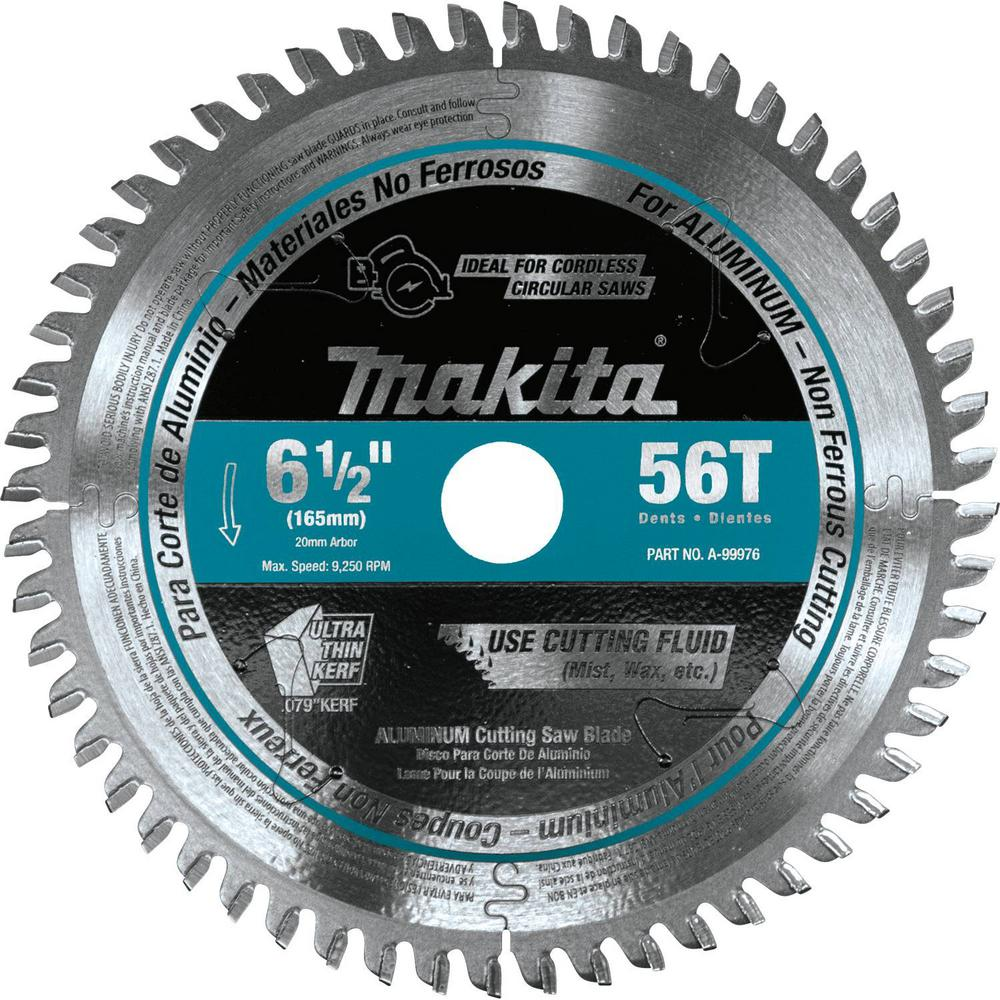 6 12 circular saw blades saw blades the home depot 6 12 in 56t carbide tipped cordless plunge saw blade aluminum greentooth Gallery