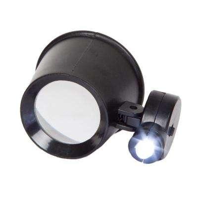 1.5 in. LED 10x Magnification Jewelers Eye Loupe