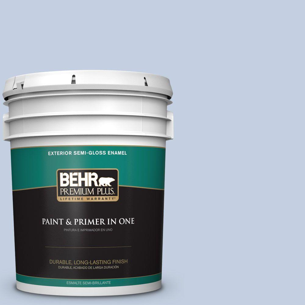 5-gal. #580E-2 Saltwater Semi-Gloss Enamel Exterior Paint