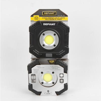 500 Lumens Compact Utility Light with Magnet (2-Pack)