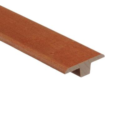 Maple Cinnamon 3/8 in. Thick x 1-3/4 in. Wide x 94 in. Length Wood T-Molding