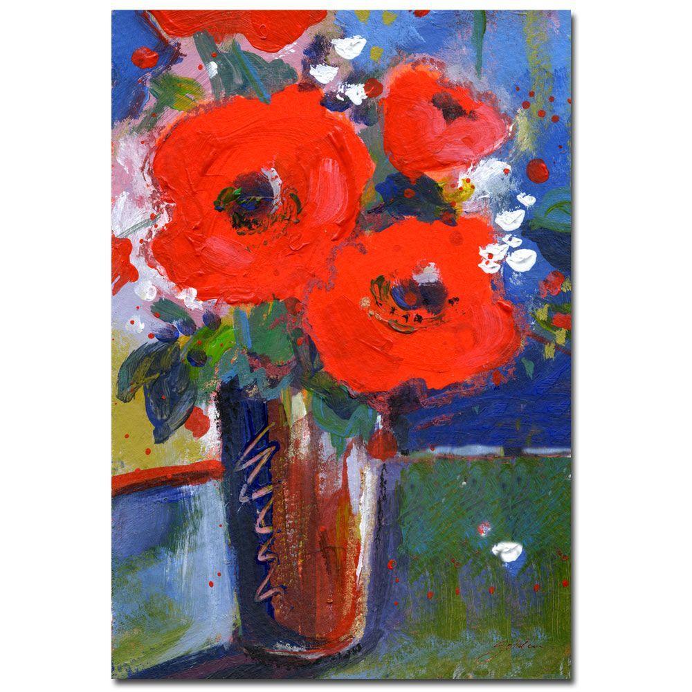 24 in. x 32 in. Bouquet II Canvas Art