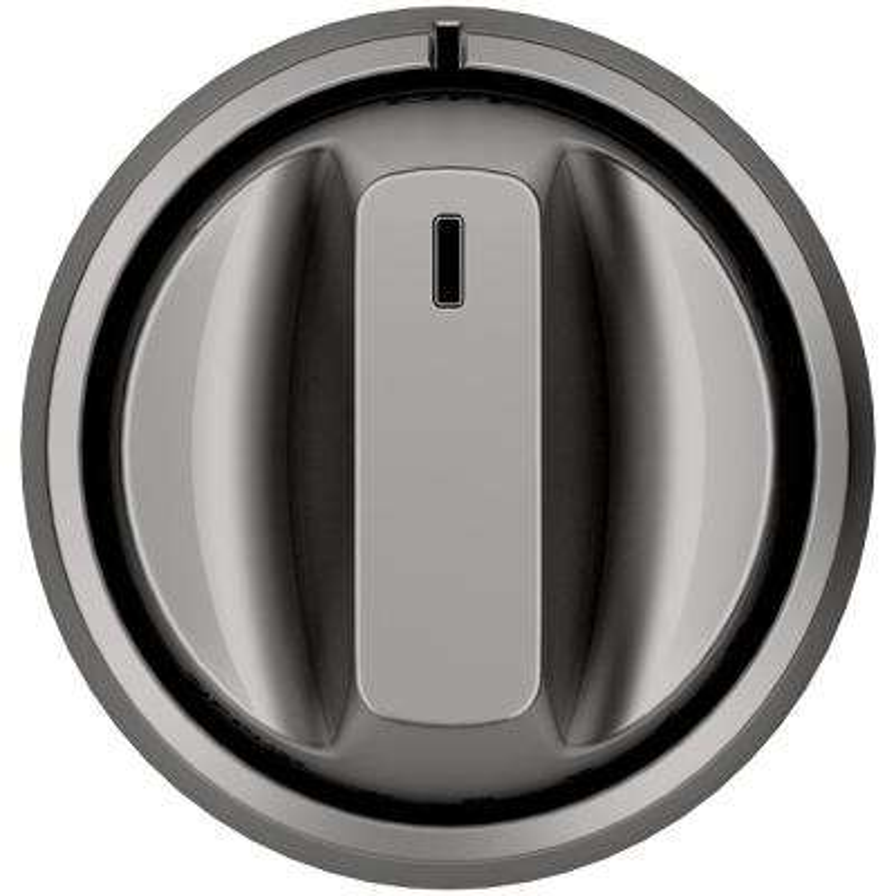 Electric Range Knob and Handle Kit in Brushed Black