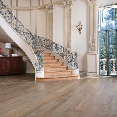 French Oak Half Moon 1/2 in. T x 5 in. and 7 in. W x Varying Length Engineered Hardwood Flooring (24.93 sq. ft./case)
