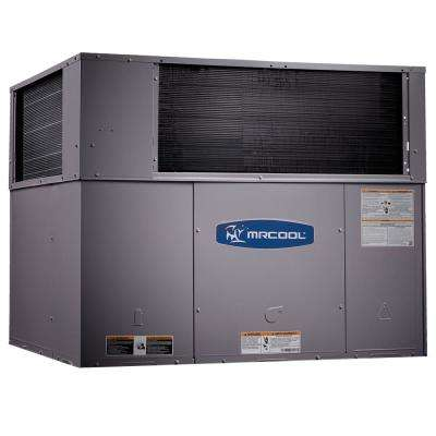 5 Ton 14 SEER R-410A 115000 BTU Heat Horizontal or Down Flow Package A/C and Gas