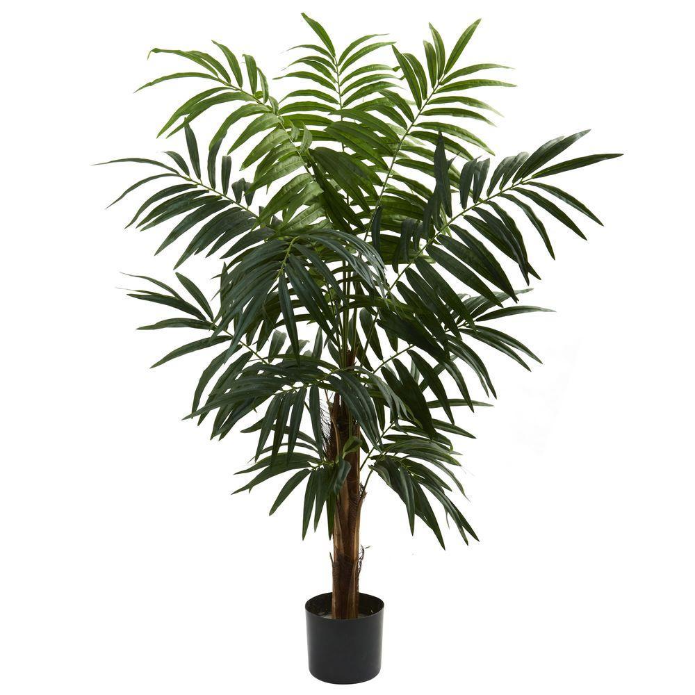 "Tropical Dracaena Fake plant with 9/"" COTTON ROPE BASKET with 48 leaves Home /& office plant Elpidan- Artificial Dracaena Plant Tree Decor,44/"" corn stalk dracaena silk plant House Plants 1Pack"