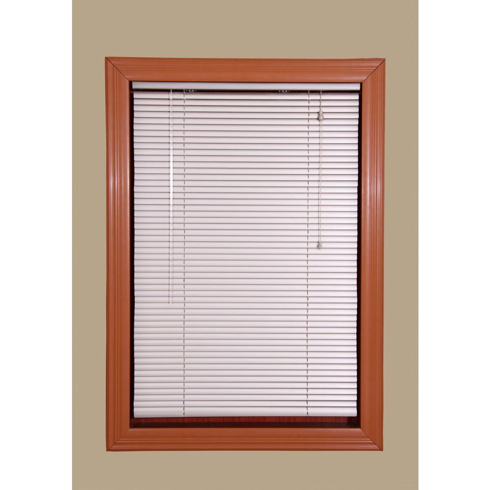 Champagne 1 in. Room Darkening Aluminum Mini Blind - 27.5 in.