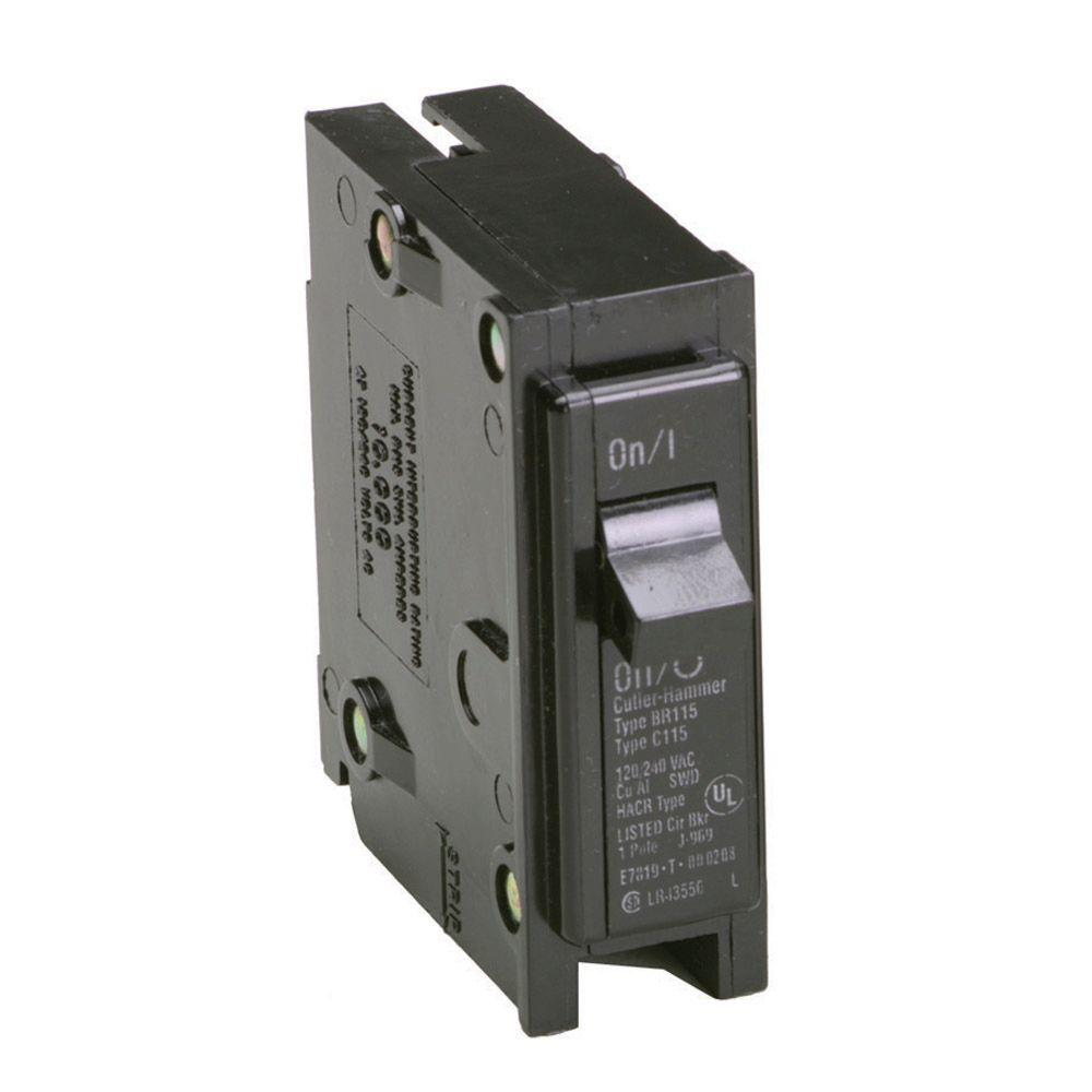 30 Amp 1 in. Single-Pole Type BR Replacement Circuit Breaker