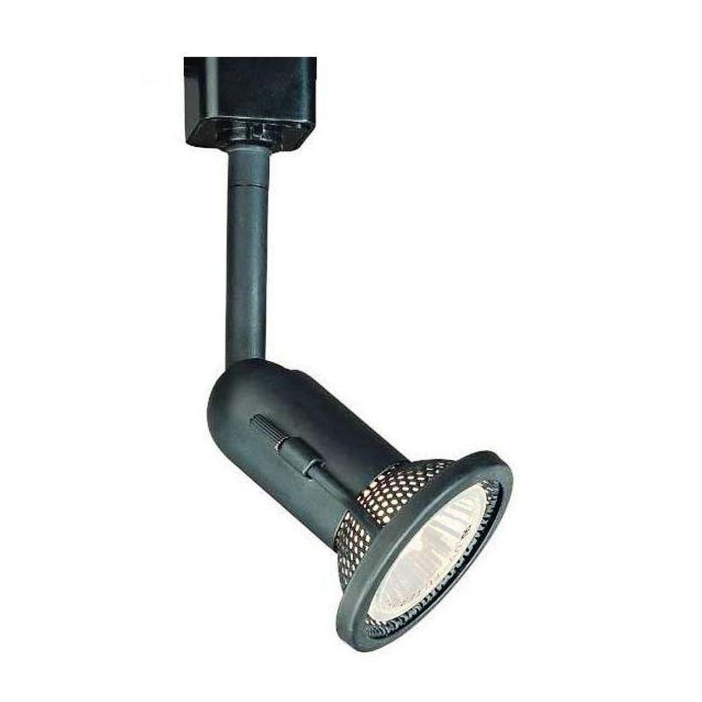 1-Light Black Linear Track Lighting Fixture