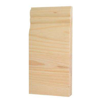 8 in. x 3-3/4 in. Center Base Trim Block