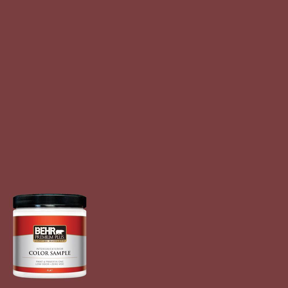 BEHR Premium Plus 8 oz. #S-H-140 Cinnamon Cherry Interior/Exterior Paint Sample