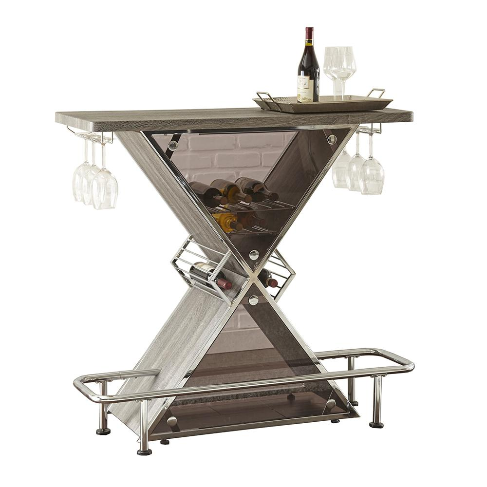 Joanna Grey Bar Table