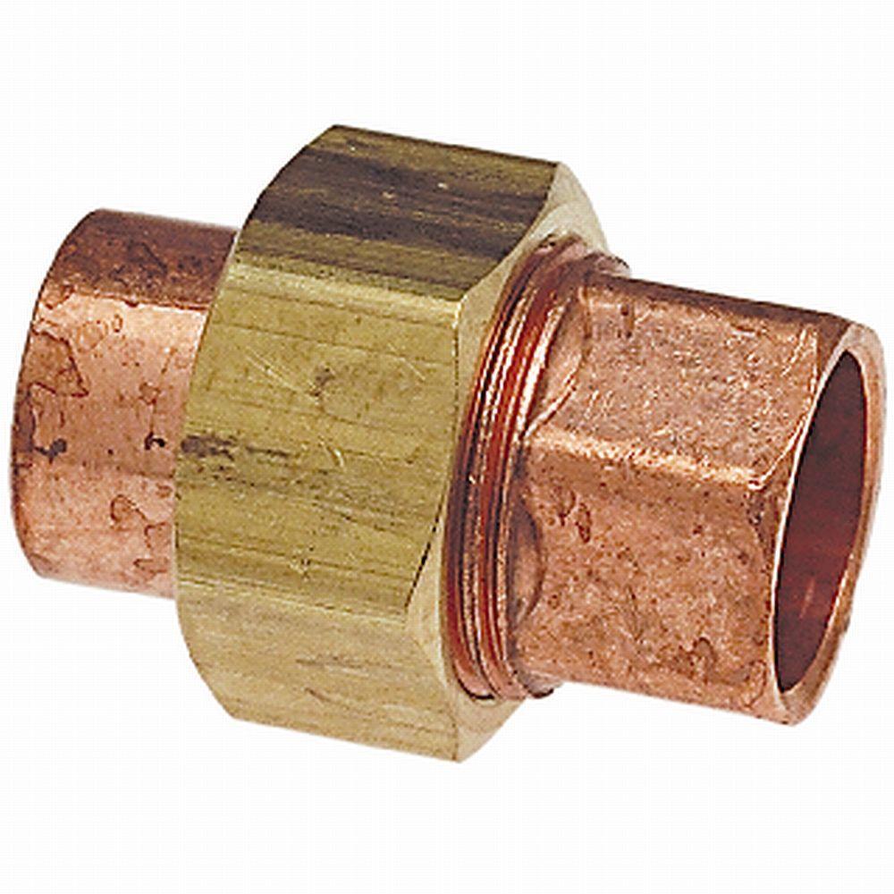 1/2 in. Copper Pressure C x C Union
