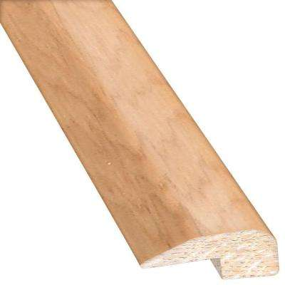 Vintage Hickory Sea Mist 0.88 in. Thick x 2 in. Wide x 78 in. Length Hardwood Carpet Reducer/Baby T-Molding
