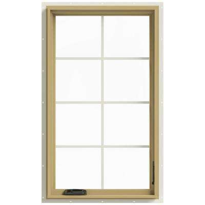 28 in. x 48 in. W-2500 Right Hand Casement Aluminum Clad Wood Window