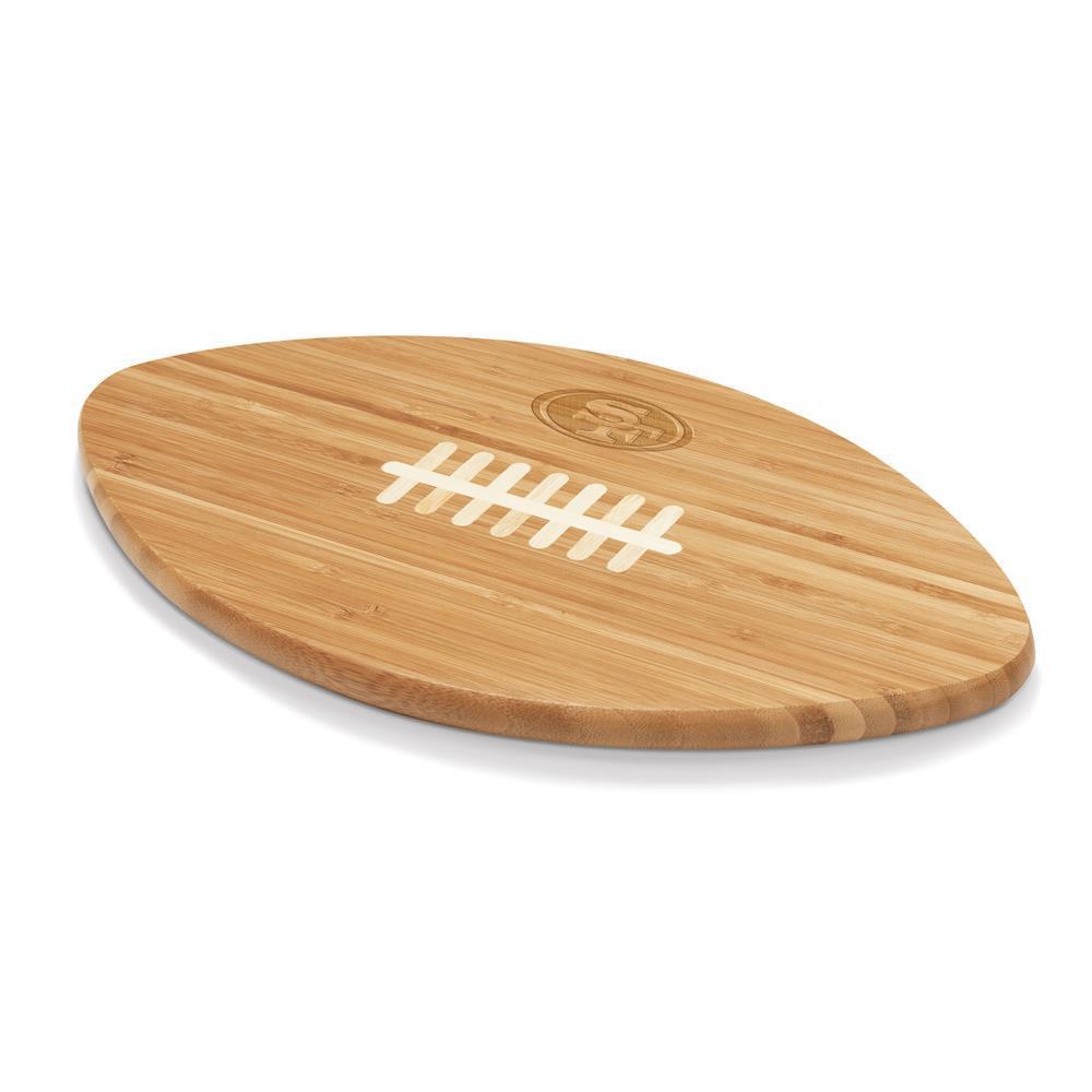 San Francisco 49ers Touchdown Pro Bamboo Cutting Board