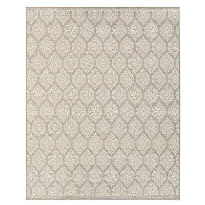 Taurus Grey Cream 10 ft. x 13 ft. Indoor Area Rug