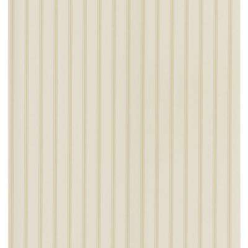Cottage Living Cream Pinstripe Wallpaper Sample