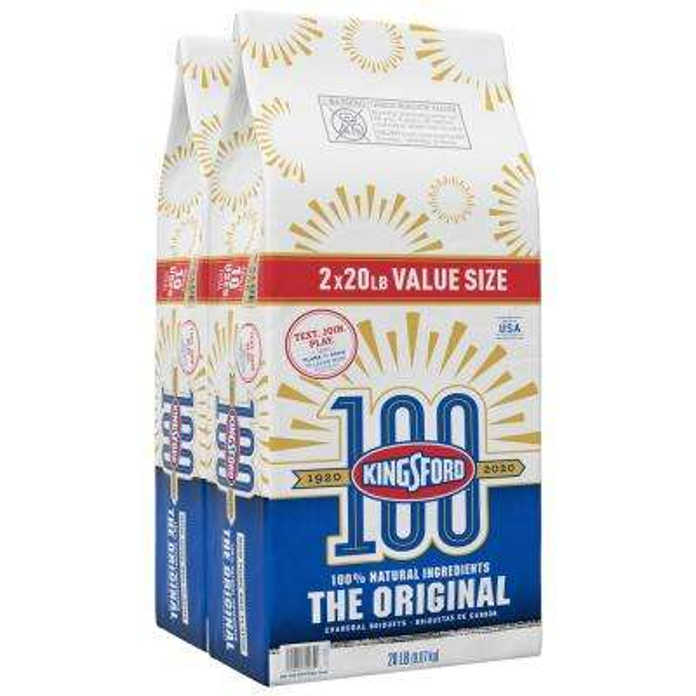 20 lbs. Original Charcoal Briquettes (2-Pack)