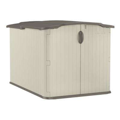With Floor Sheds Outdoor Storage