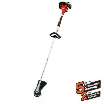 22.8cc Gas 2-Stroke Cycle Straight Shaft Trimmer