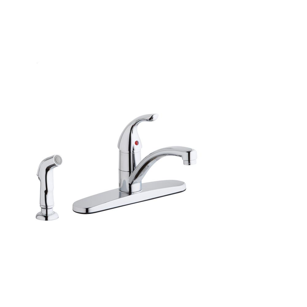 Elkay Kitchen Faucet | Elkay Everyday Single Handle Standard Kitchen Faucet With Escutcheon
