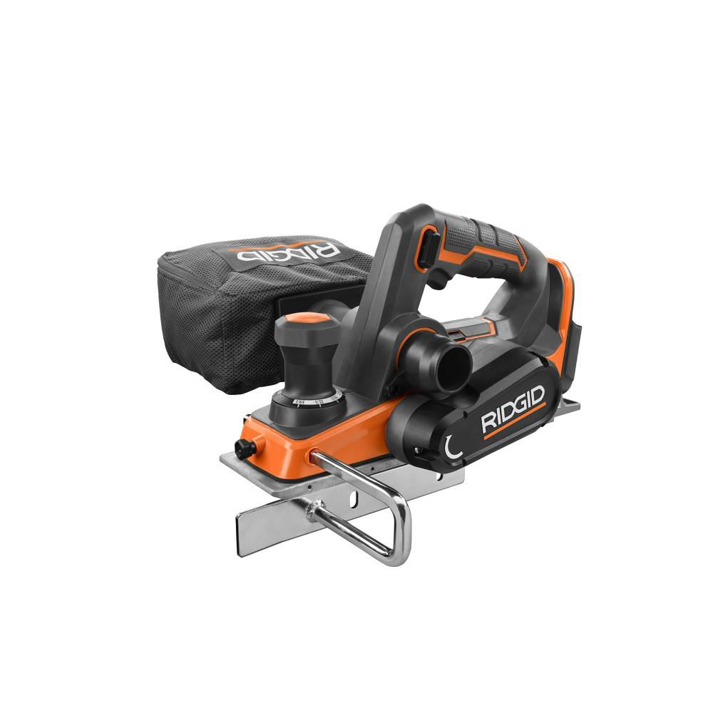 RIDGID 18-Volt OCTANE Cordless Brushless 3-1/4 in. Hand Planer (Tool Only)