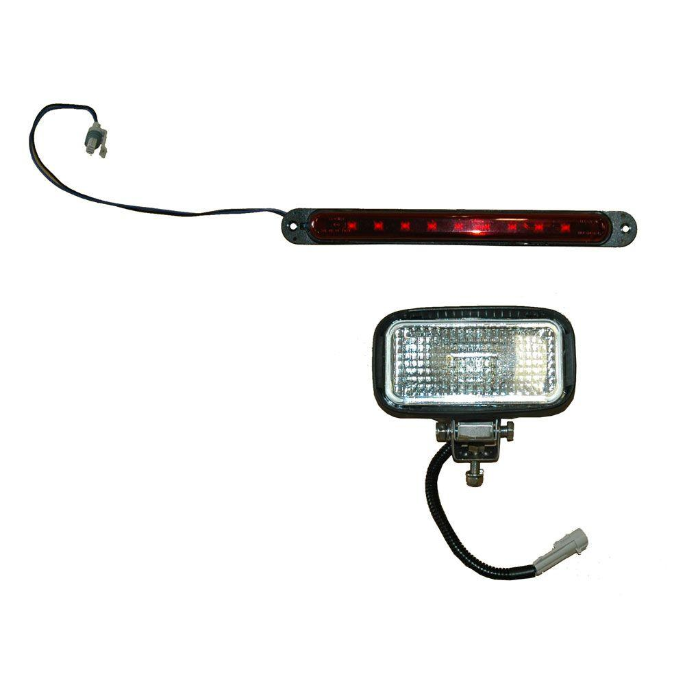 Rear Work Light Kit (Halogen Bulb) for the Meyer BL 240/BL