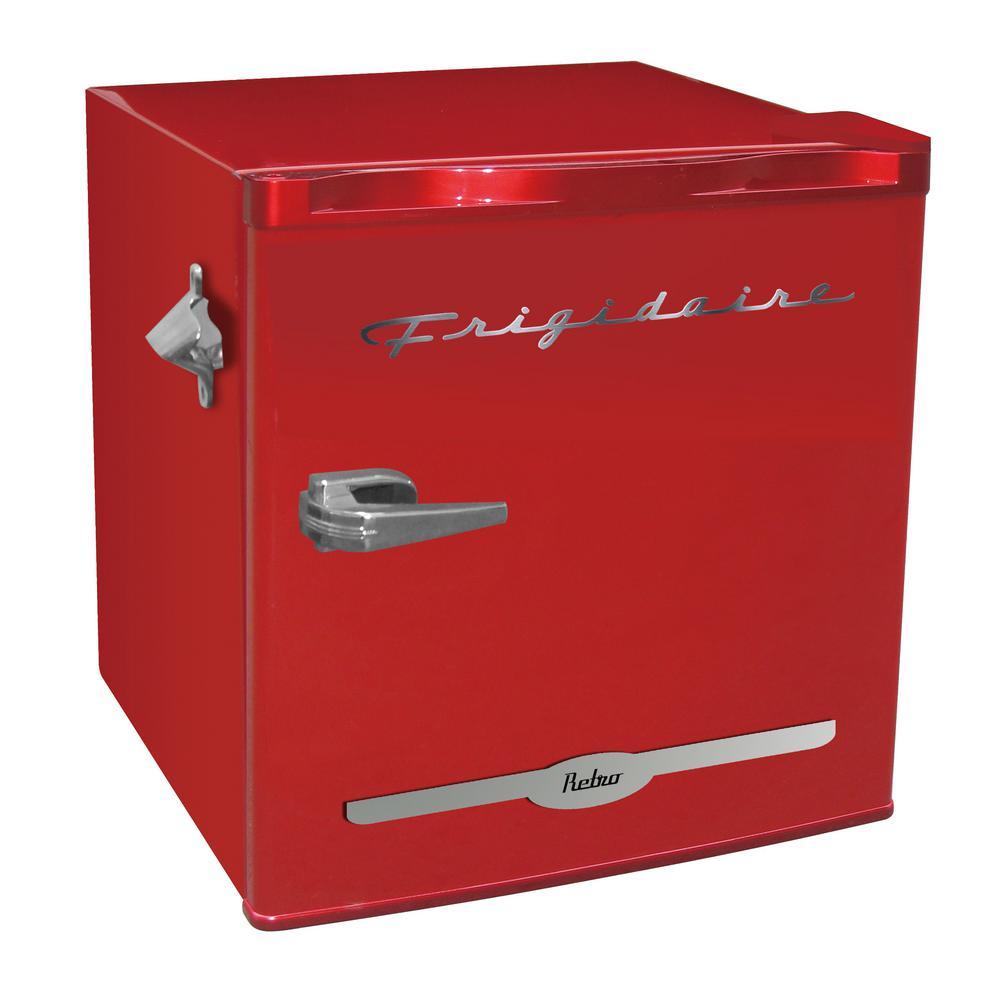 Frigidaire 1 6 Cu Ft Mini Fridge In Red Efr176 Red The