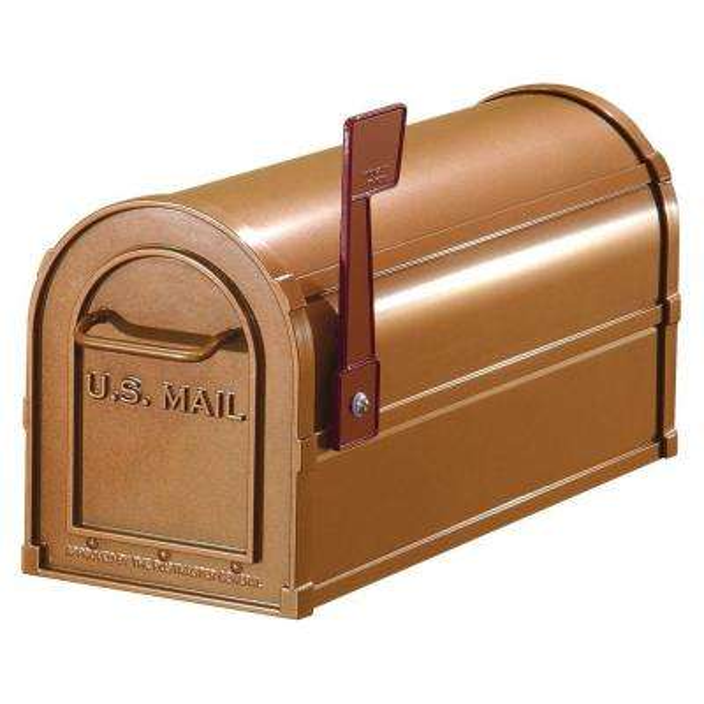 4800 Series Post-Mount Antique Rural Mailbox