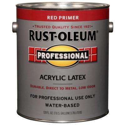 1 gal. Flat Red Acrylic Latex Primer (Case of 2)