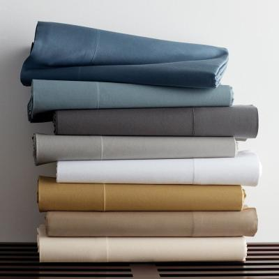Legends Luxury Solid 500-Thread Count Cotton Sateen Duvet Cover