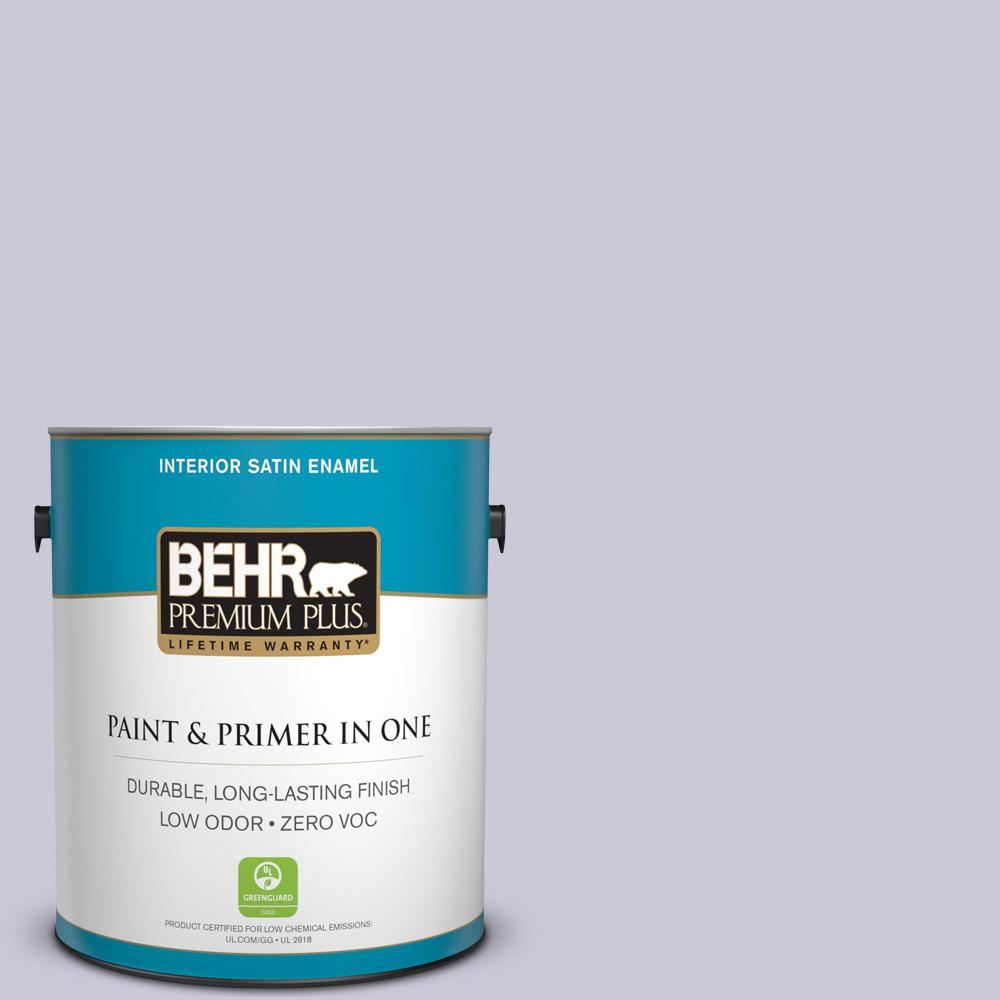 BEHR Premium Plus 1-gal. #S570-2 Magic Scent Satin Enamel Interior Paint