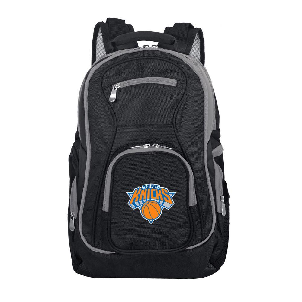 NBA New York Knicks 19 in. Black Trim Color Laptop Backpack