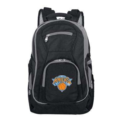 NBA New York Knicks 19 in. Black Trim Color Laptop Backpack
