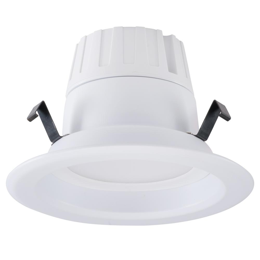 Honeywell 4 in White Integrated LED Recessed Trim-D416530HB110 - The ...