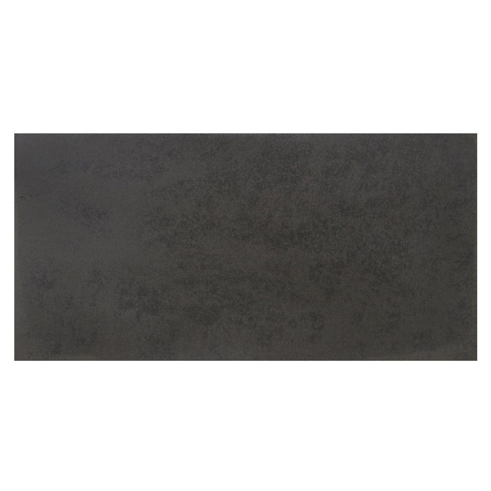 Solistone Basalt Honed 15 in. x 30 in. Natural Stone Floo...