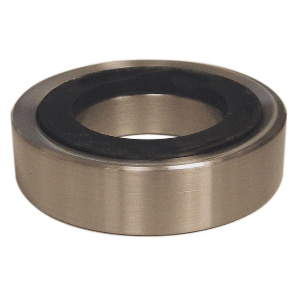 DANCO Decorative 3 in. Mounting Ring in Brushed Nickel