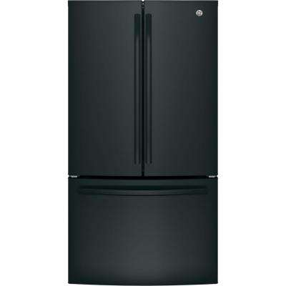 27 cu. ft. French Door Refrigerator in Black, ENERGY STAR