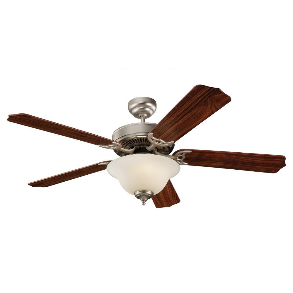 Sea Gull Lighting Quality Max Plus 52 in. Brushed Pewter Ceiling Fan