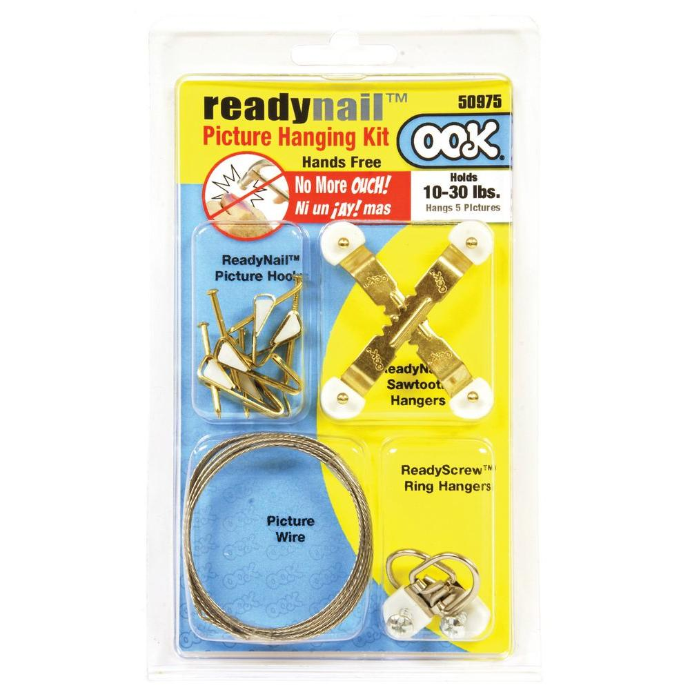 OOK Ready Nail Kit-50975 - The Home Depot